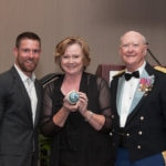 Noah Galloway Presented Army Ornament by Col. and Mrs. Barefield